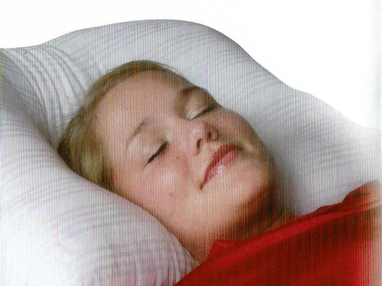 ぐっすりと眠れる枕