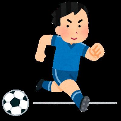 有痛性外脛骨(ゆうつうせいがいけいこつ)を克服してサッカーで活躍