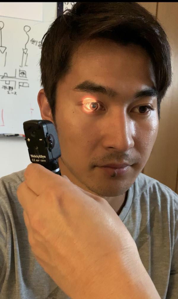飯塚翔太選手の脳神経額検査